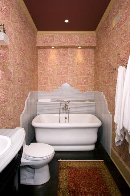 Traditional Bathroom by Ossolinski Architects, PLLC
