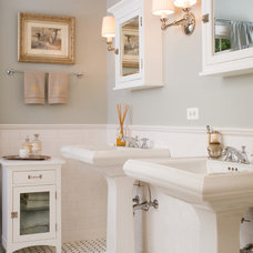 Traditional Bathroom by Benchmark Homes