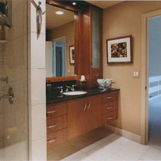 Contemporary Bathroom by Kitchens & Baths Unlimited