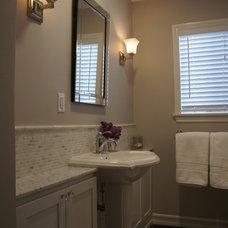 Traditional Bathroom by Ederra Design Studio