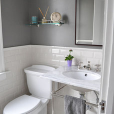Traditional Bathroom by Rebekah Zaveloff | KitchenLab