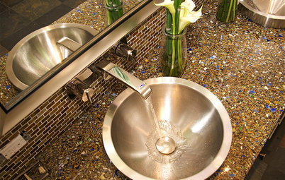 Green and Clean: Ecofriendly Bath Countertops