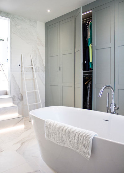 Contemporary Bathroom by Linear London | Kitchens, Bathrooms & Tiles