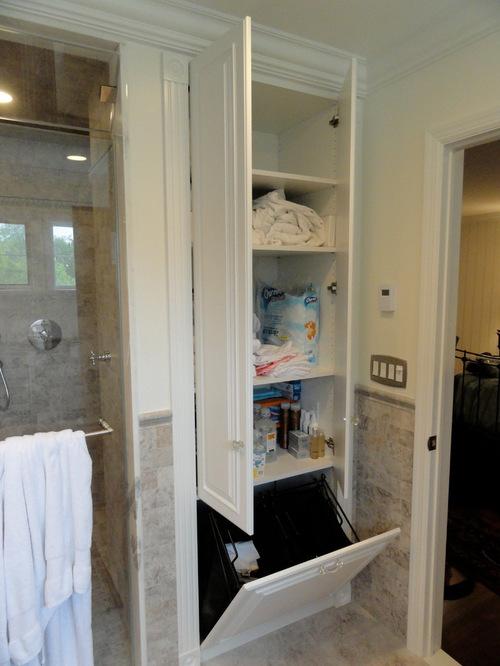 SaveEmail - Best Hamper Storage Bathroom Design Ideas & Remodel Pictures Houzz