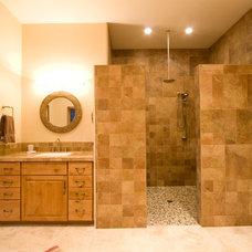 Contemporary Bathroom by Wilson Builders LLC