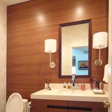 Contemporary Bathroom by Modern Millwork Innovations