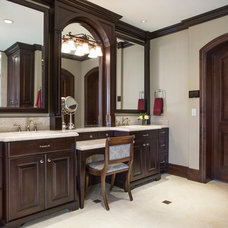 Traditional Bathroom by Lisman Studio Interior Design