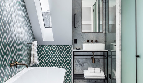 7 Ways to Make a Small Bathroom Fit for a King, Queen or Village