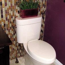 Asian Bathroom Litt's Plumbing Kitchen and Bath Gallery