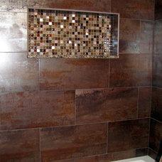 Modern Bathroom Litt's Plumbing Kitchen and Bath Gallery
