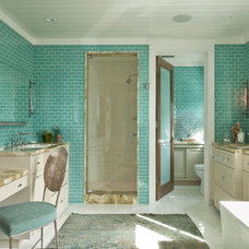 Beach Style Bathroom by Anne Michaelsen Design