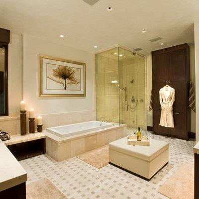 Trendy bathroom photo in Denver
