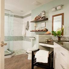 Contemporary Bathroom by Coastal Decor, Nicole Rice