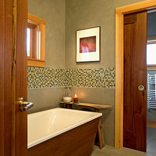 Craftsman Bathroom by NEWwoodworks Fine Woodworking