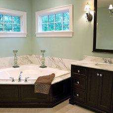 Traditional Bathroom by Siena Custom Builders, Inc.