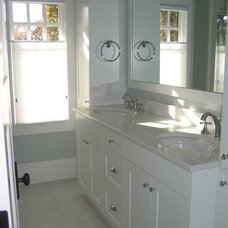 Traditional Bathroom by Casa Flores Cabinetry