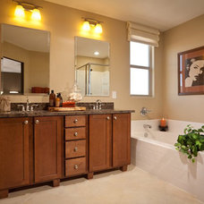 Contemporary Bathroom LivingSmart Homes at Providence