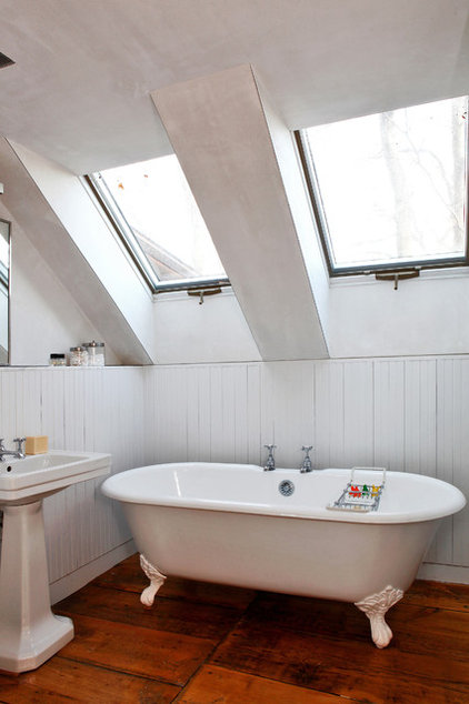 Traditional Bathroom by Dlux Images