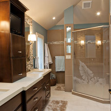 Contemporary Bathroom by Liz Murphy Design LLC