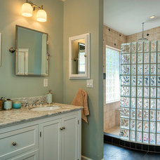 traditional bathroom by Caine & Company
