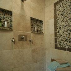 Modern Bathroom by Angie Keyes CKD