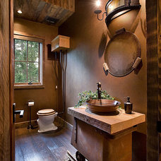 Traditional Bathroom by Ryan Whitworth - The Big Guys Home Delivery Inc.