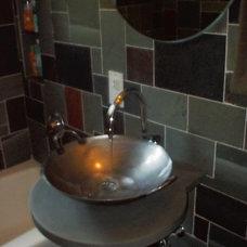 Modern Bathroom by Architects Rule, PC