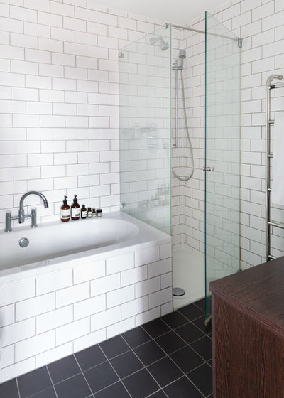 Scandinavian Bathroom by Element Studios