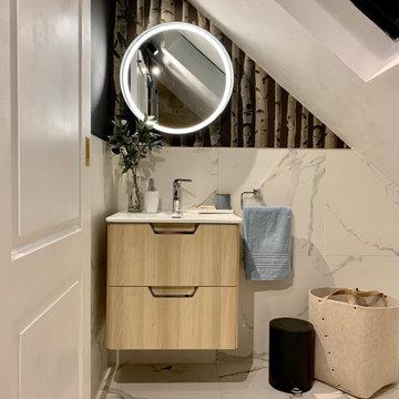 Loft bathroom design, Wimbledon, SW19