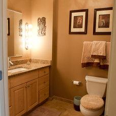 Traditional Bathroom by Moonlight Interiors