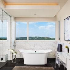 Traditional Bathroom by JEIDesign