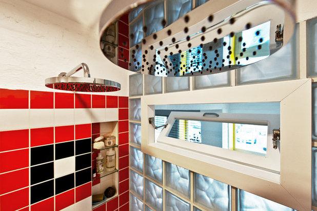 Eclectic Bathroom by Dalius & Greta Design