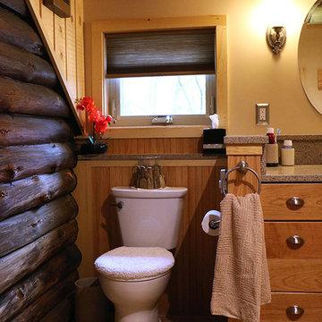 Log Cabin Addition ( Master Bath)