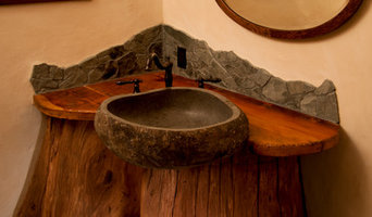 Log Cabin Sink