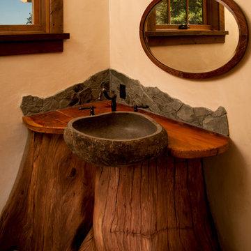 Log Cabin Sink