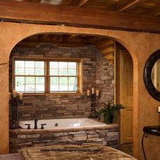 Traditional Bathroom by Home Design Elements LLC