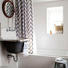 Transitional Bathroom by BGDB Interior Design