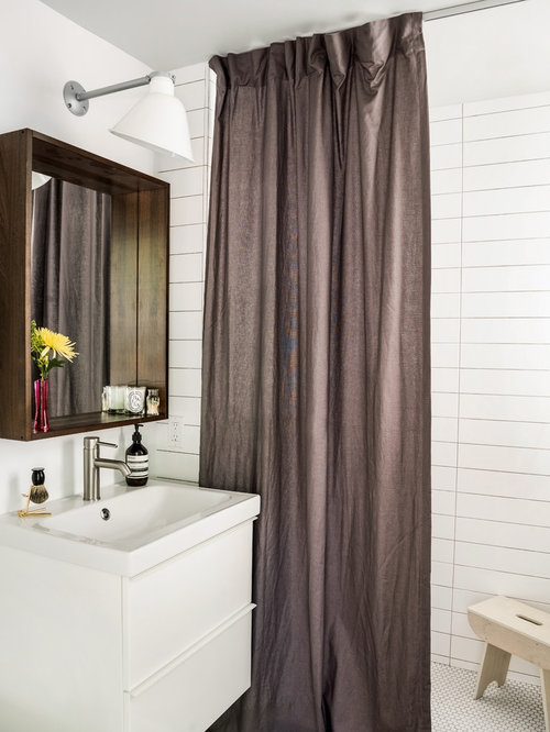 full length shower curtain ideas pictures remodel and decor