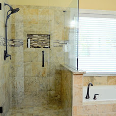 Transitional Bathroom by Johnny Rhino Residential Remodelers