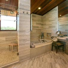 Modern Tile by Kitchen & Bath Cottage