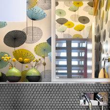 Contemporary Bathroom by Andrea Schumacher Interiors