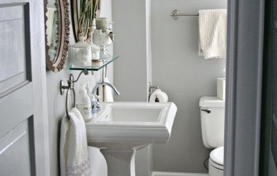 Primp Your Powder Room on a Shoestring