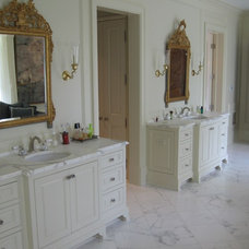 Traditional Bathroom by Blue Horse Woodworks