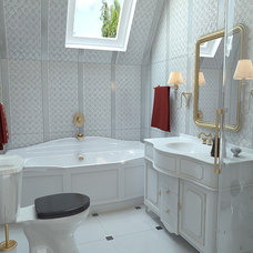 Contemporary Bathroom by Lompier Interior Group