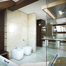 Contemporary Bathroom by Lompier Interior Group