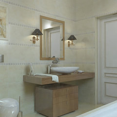 traditional bathroom by Lompier Interior Group