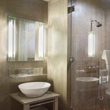 Contemporary Bathroom by James Wagman Architect, LLC