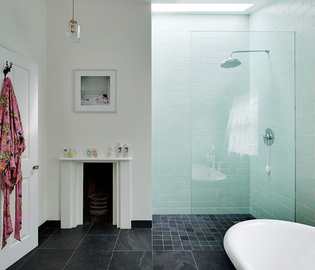 Eclectic Bathroom by Brian O'Tuama Architects