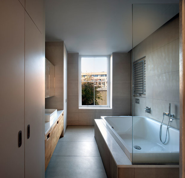 Contemporary Bathroom by Palmer Lunn Architects