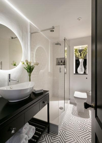 Contemporary Bathroom by Shanade McAllister-Fisher Design